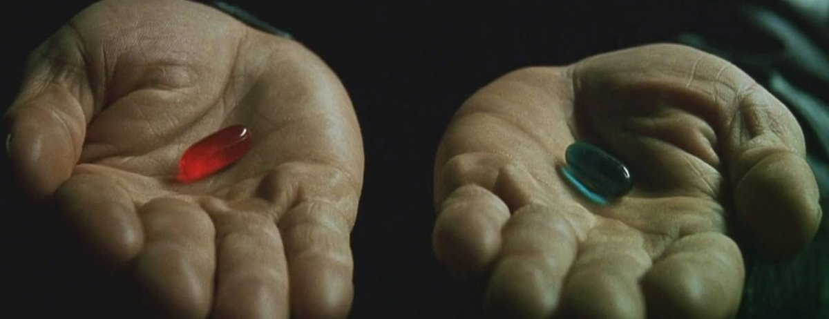 Taking the Red Pill